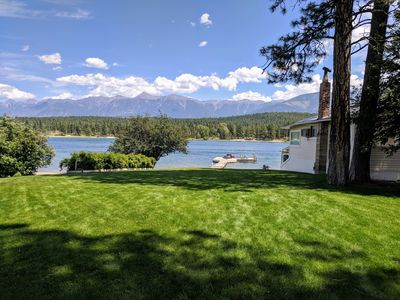 Wasa Lake Guest House View of Rocky Mountains