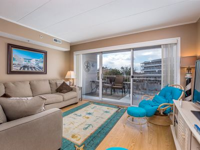 Photo for Gorgeous 3BR, 2BA bayside condo nestled in a prime mid-town location