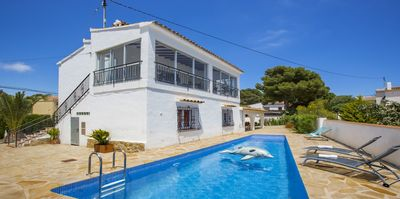 Photo for Villa with private pool and near the sea in Calpe