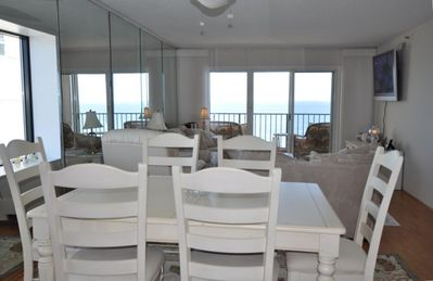 Photo for Penthouse Oceanfront Plaza End Unit Ocean and Bay Balconies