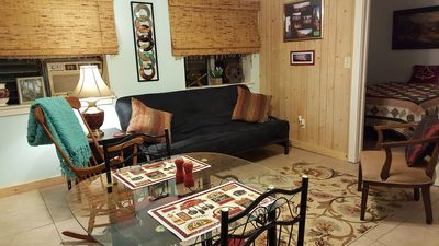 Photo for 1BR Apartment Vacation Rental in Penrose, North Carolina