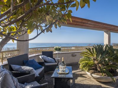Photo for Views to the sea Large terrace 170 m2