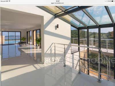 Photo for Exceptional modern villa panoramic sea and hill