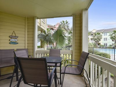 Dawn 916-Hook, Wine & Sinker: Private Patio, Pool View, First Floor, Must See!