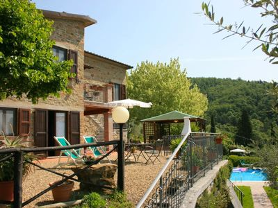 Photo for 5 bedroom Villa, sleeps 10 in Casa Rossi with Pool and WiFi