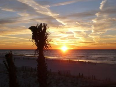 Enjoy Beautiful Orange Beach, Gulf Coast Sunrises Every Morning! Palm Beach B21