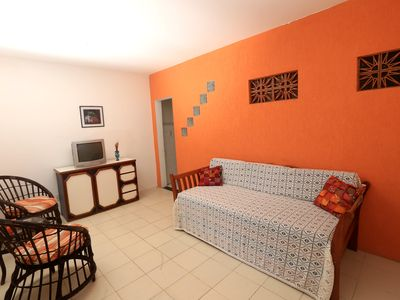 Photo for Apartment in a condo with pool 50m from the ocean