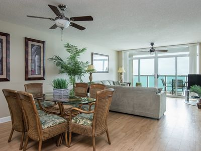 Photo for Crescent Keyes - 1004 A beautifully laid out ocean-front condo overlooking the Atlantic Ocean!