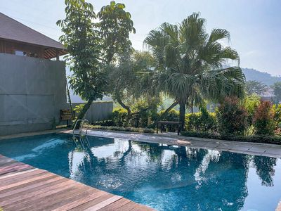 Photo for 4 BR Mountain View Villa with a private pool 1