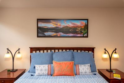 Sleep in style in the all new King Master bedroom