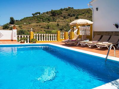 Photo for Wonderful private villa with WIFI, private pool, TV and washing machine