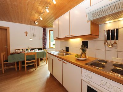 Photo for Top equipped apartment in a prime location, 4-5 persons, sauna, free Wi-Fi, entrance cross-country skiing / winter hiking trail, extra beds 2.20 m - Apart Zimalis ****