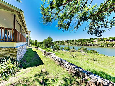 Photo for Complete Remodel in 2019! 2BR w/ Deck, Yard, Dock & Stunning Lake Views