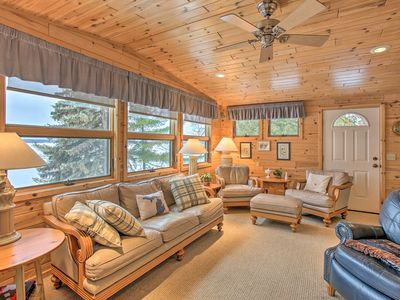 Photo for NEW! Waterfront Cottage, 9 Mi to Aloha State Park!