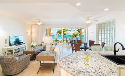 Photo for Newly Remodeled Oceanfront 2 Bedroom Suite on Grace Bay in Villa Renaissance