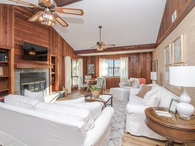 Photo for Two bedroom home tucked away among the trees on Mid-Island section of Tybee Island