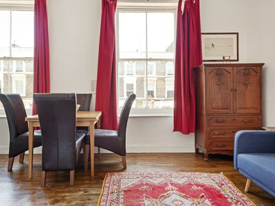 Photo for Spacious 2-Bed flat w/Sofa Bed near Notting Hill