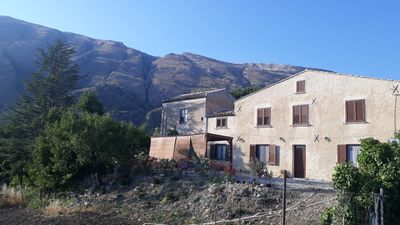 Photo for Restored farmhouse built in the late 1800s, surrounded by the mountains