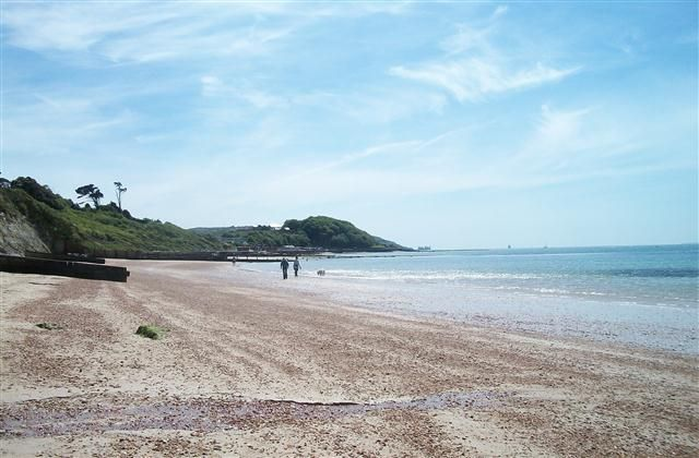 Isle Of Wight Holiday Rental On Beach