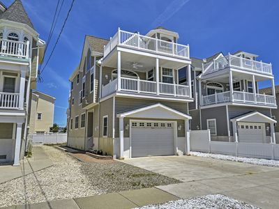 Photo for Inviting 4BR Sea Isle City House w/Beach Access!