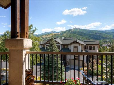 Photo for Amazing Summer Mountain View, Deluxe Condo w/Private Balcony