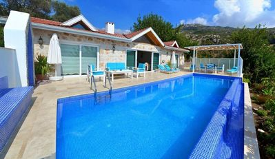 Photo for Beautifully Designed Secluded Two Bedroom Villa with Heated Pool.