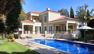 Photo for Villa Lira is a smart four bedroom holiday villa located in the popular Quinta do Lago resort. It is located just 10 minutes walk from Quinta do Lago plaza with it's shops restaurants and bars.