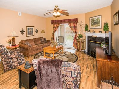 Photo for Granite, Recliners, King Beds, Walk to the Island, Dollywood Ticket