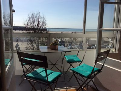 Photo for APARTMENT (120 m2) standing on two floors IN A HOUSE FACING THE SEA