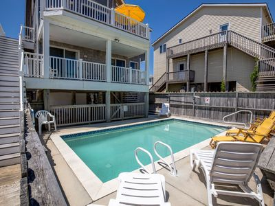Photo for Footloose | Oceanfront | Private Pool | Nags Head