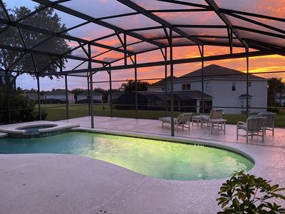 Photo for 3 Miles to Disney!!/Gated Resort/Pool/Spa/6BR/4.5BA/Free WIFI/Huge Pool Deck