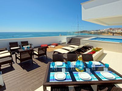 Photo for Amazing villa in a perfect environment - Sea view - Heated Pool (NEW)