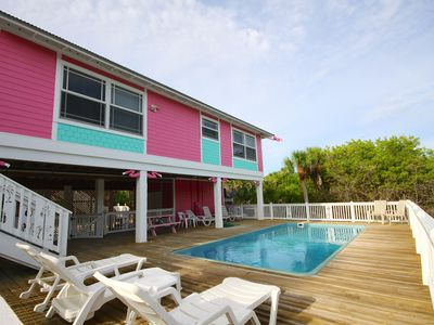 Pristine Beachview Home, Private Pool, Spa, Club Cart