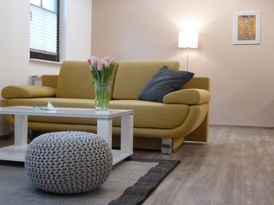Photo for Quiet and spacious 2-room apartment with good transport links