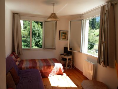 Photo for Apartment 80m2 with open view / quiet and sunny / balconies / 6 people