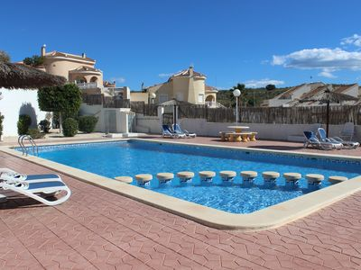 Photo for TWIN VILLA IN GOLF ALONG WITH POOL CLOSE TO THE SEA CUIDAD QUESADA