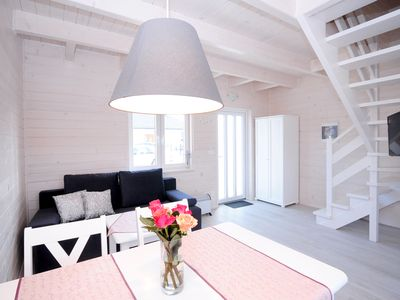 """Photo for The newly built """"White Cottage Lux"""", Grzybowo in Um Kolberg, 1-6 persons"""