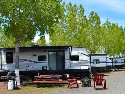 Photo for High-End RV Glamping - Your Outdoor Adventure Awaits