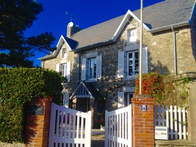 Photo for CHARMING HOME, 900 METERS FROM THE SEA WITH BEAUTIFUL GARDEN
