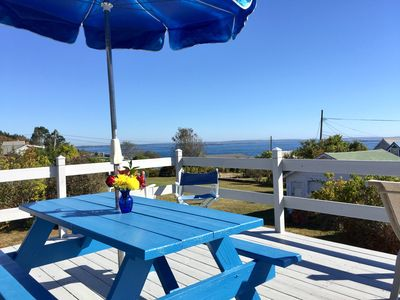 Classic Maine Cottage with astonishing easterly views located walking distance to Cedar Beach!