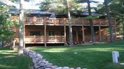 Photo for Lakefront Long Lake,10 Min to Pk Rpds,  Long Fall Wknd $1000, No Cleaning Fees!
