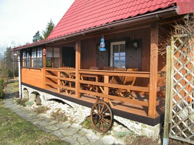 Photo for House 1.1 km from the center of Gilowice with Parking, Internet, Washing machine, Garden (667566)