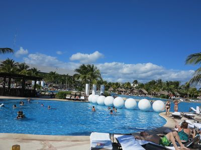 Photo for Luxury Golf and Spa Oceanfront Resort (Mayan Palace), Riviera Maya, 2bd Suite