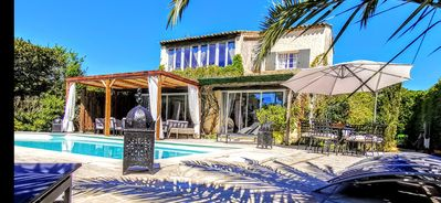 Photo for House Provencal Villa Heated Pool Jacuzzi South