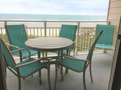 Photo for Spectacular Ocean FRONT Condo with gorgeous  views & a white sandy beach