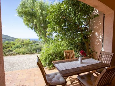 Photo for villa in Lacona with sea view 6 beds