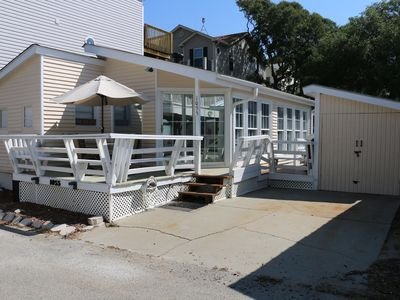 Photo for Lake View,  Pet Friendly,  Ground Level August Weeks Avail.   Close Walk 2 Ocean