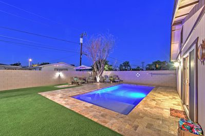 Look forward to spending vacation days lounging by the private heated pool.