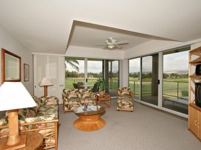 Photo for Second Floor, 2 Bedroom with Views of Kohala Mountains & Golf Course