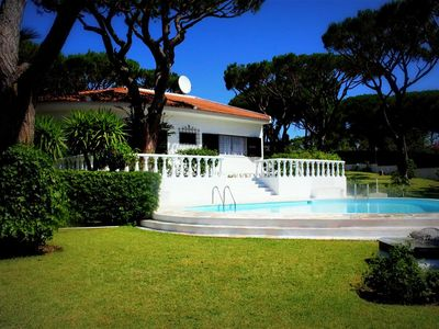 Photo for luxury Villa - 3 bedroom holiday vila with pool for rent in Vilamoura.